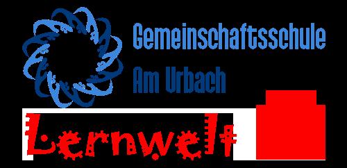 """Gemeinschaftsschule """"Am Urbach"""" Lernwelt Logo"""